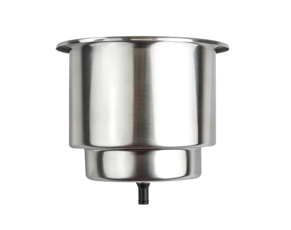 Stainless Steel Drink Holder with Drain