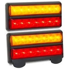 AutoLED Submersible LED Trailer Light 207 Series Twin Pack