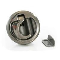 Flush Slam Latch Stainless Steel 50mm Cut-Out