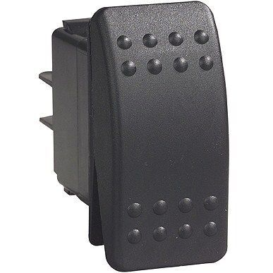 Carling C2 Rocker Switch On/Off/On 12v Black