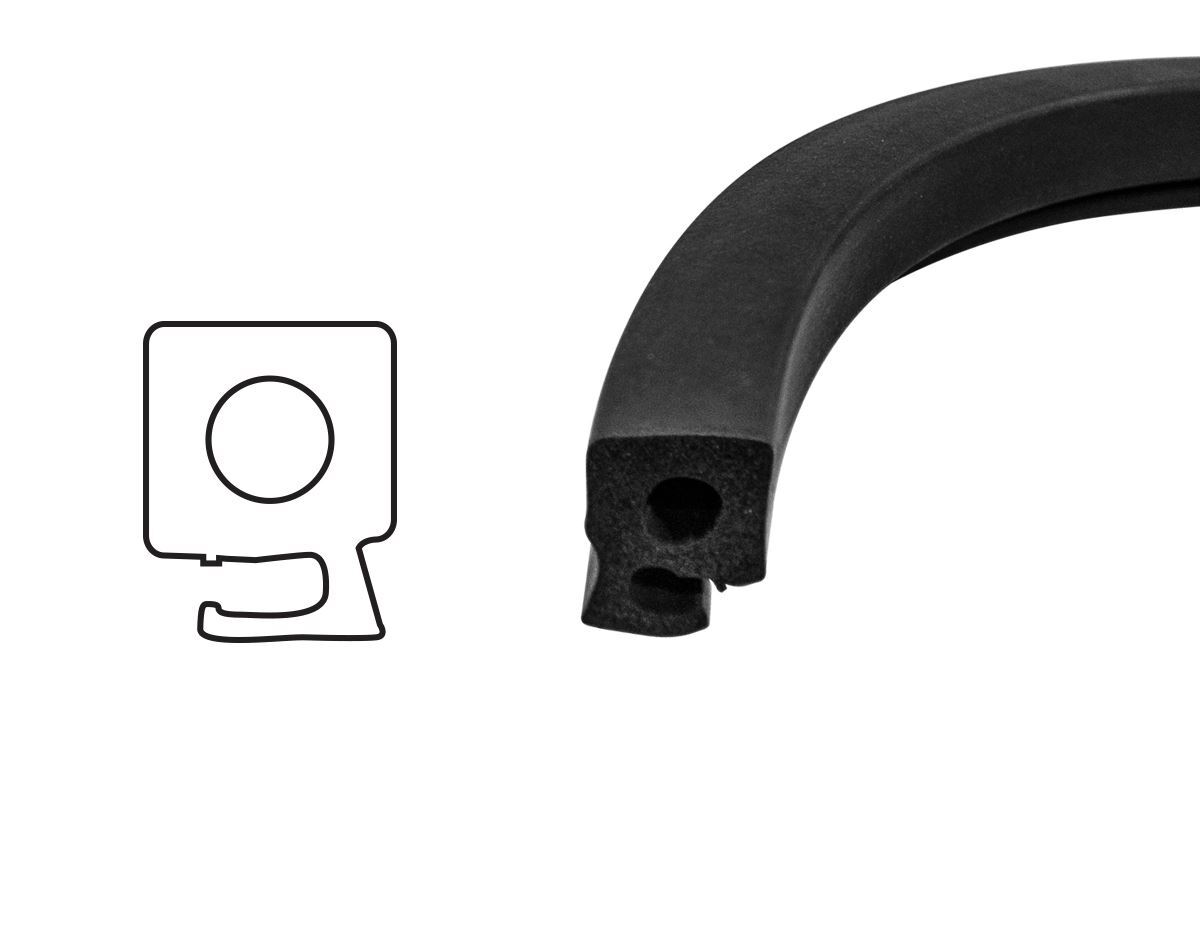 Bomar Replacement Gasket Seal for 2000 Series High Profile Extruded Hatches