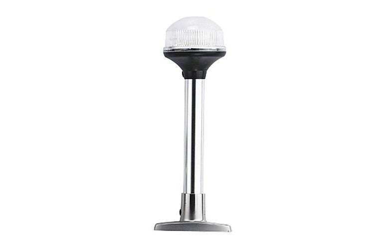 LED Anchor Light 360deg with S/S Base 12v 200mm