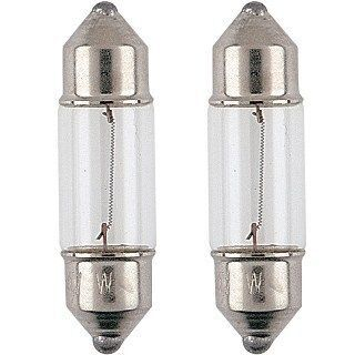 Festoon Bulb Replacement 12volt 10watt 28mm (2pk)