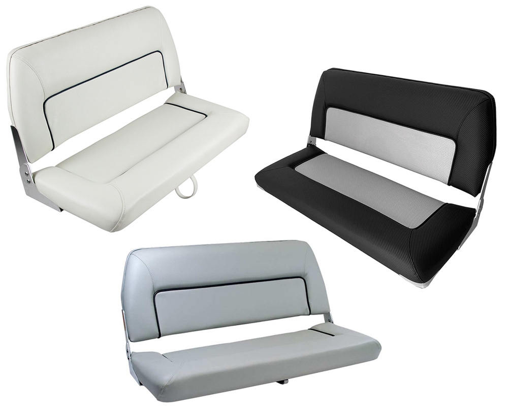 Admirable S90 Double Folding Bench Seat Boat Accessories Australia Inzonedesignstudio Interior Chair Design Inzonedesignstudiocom