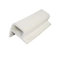 Fender - Pontoon 'P' Section  PVC White