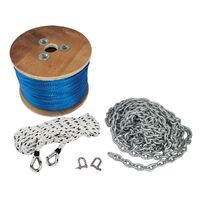 Bell Marine HI SPEC 3000 Rope and Chain Kit 165mtrs