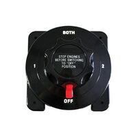 Heavy Duty Dual Battery Selector Switch
