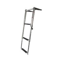 Ladder Above Platform Telescopic with Top Rail 3 Step