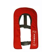 Rebel Junior 100 AUTO Inflatable Jacket - Red