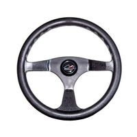 Steering Wheel 3 Spoke 350mm Black