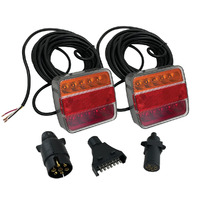 AXIS LED Submersible Trailer Light Kit 8mtr with 3x Plug Options