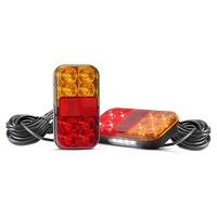 LED Autolamps 149 Series Trailer Light Kit with 10mtr Harness