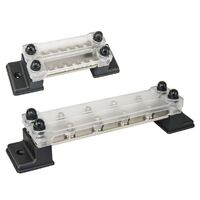 Bus Bar Power Distribution Terminal Block with Open Base and Cover