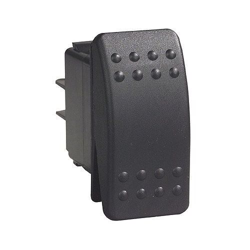 Carling C2 Rocker Switch On/Off/(On) 24v Black